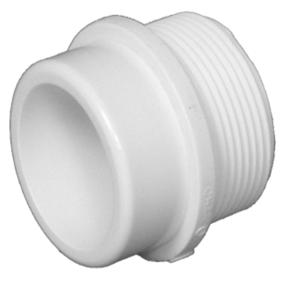 Pvc dwv male fitting adapters st hilaire supply co