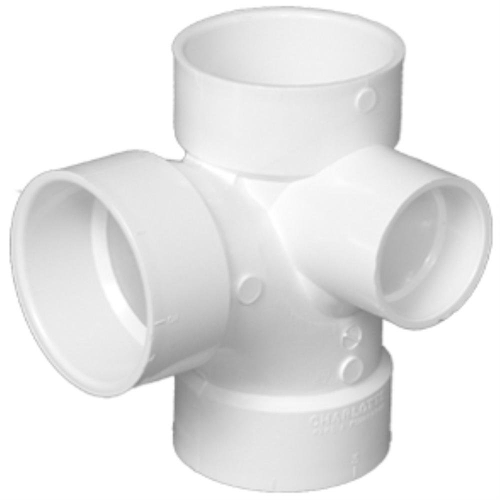 Pvc dwv sanitary tees with inlets st hilaire supply co